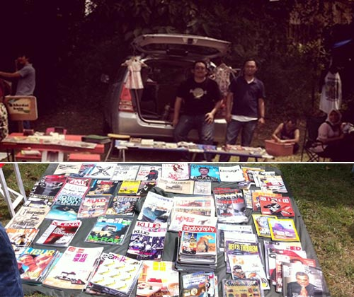 Seharian di Car Boot Sales, Lost Malaya Gallery