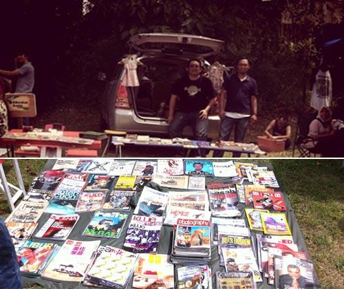 Seharian di Car Boot Sales, Lost Malaya Gallery
